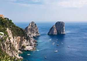 Capri tour and transfer by Helicopter